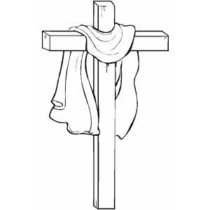 Cross3 coloring page