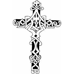 Cross4 coloring page