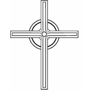 Cross6 coloring page