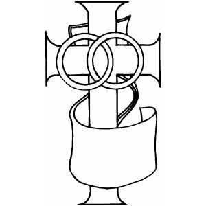 Cross8 coloring page