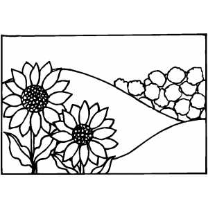 Creating 6th Day coloring page