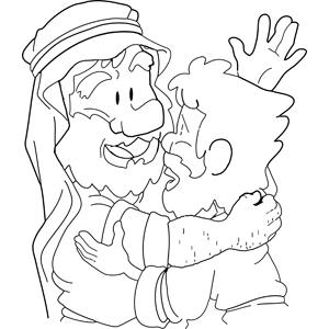 Moses Spreading the Word of God coloring page